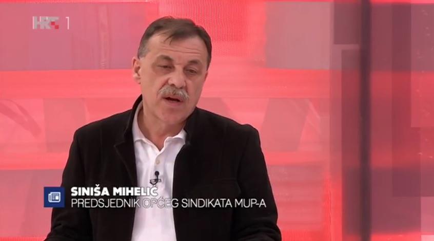 Siniša Mihelić komentira nerede na utakmicama