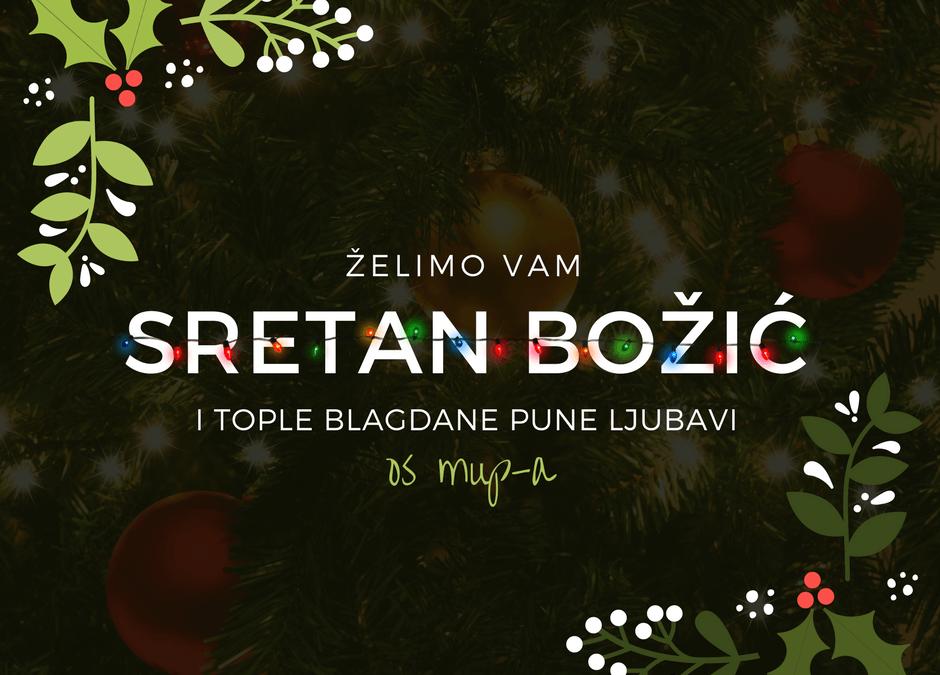 Božićna čestitka 2018