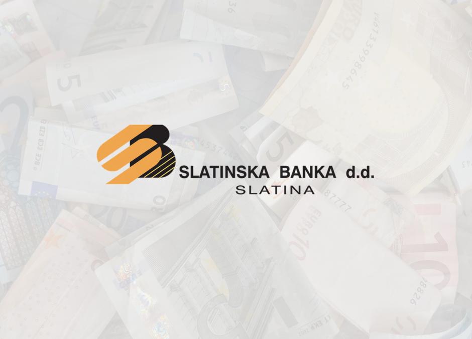 Slatinska Banka: Novi uvjeti kreditiranja i pogodnosti za članove Općeg sindikata MUP-a