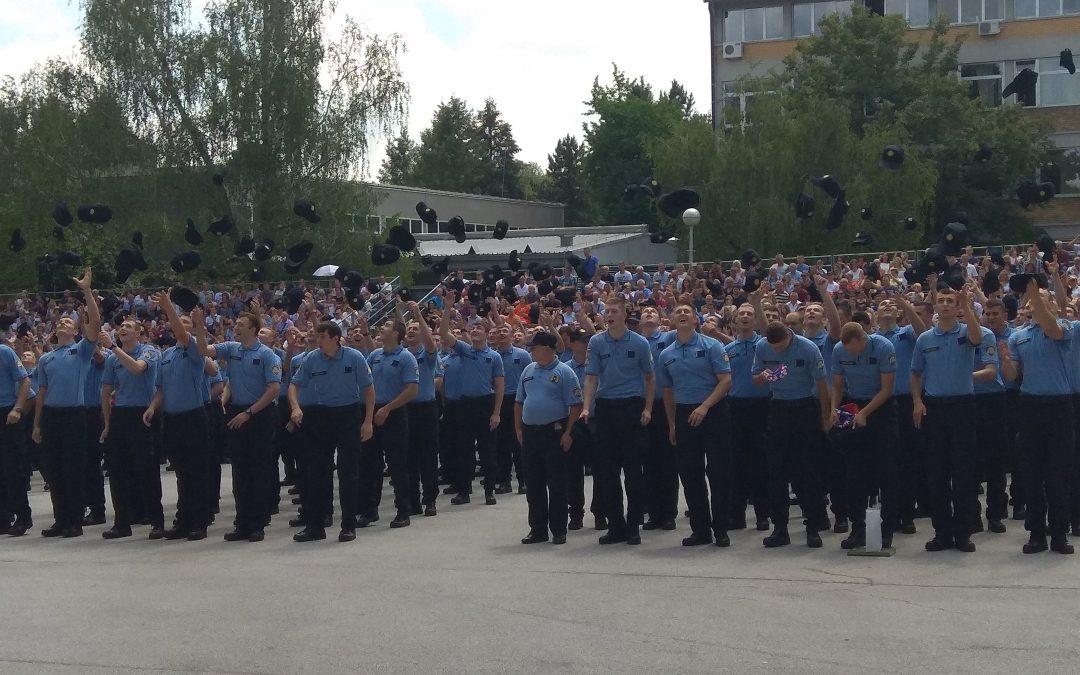 """Prisegnuli polaznici 13.-og naraštaja Policijske akademije """"Josip Jović"""""""